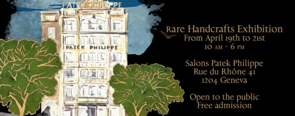 Event – Patek Philippe To Showcase the 2018 Rare Handcrafts Timepieces at its Geneva Salons (April 19 to 21)