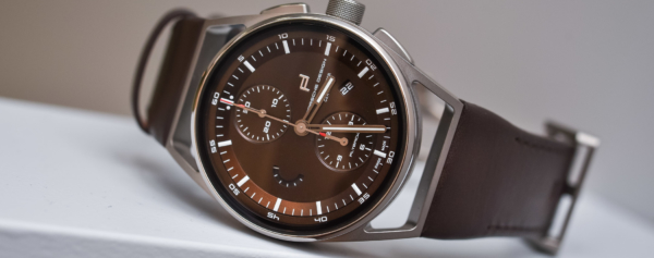 Hands-on – Porsche Design 1919 Chronotimer Flyback Brown and Leather – New Colour and New Mechanics