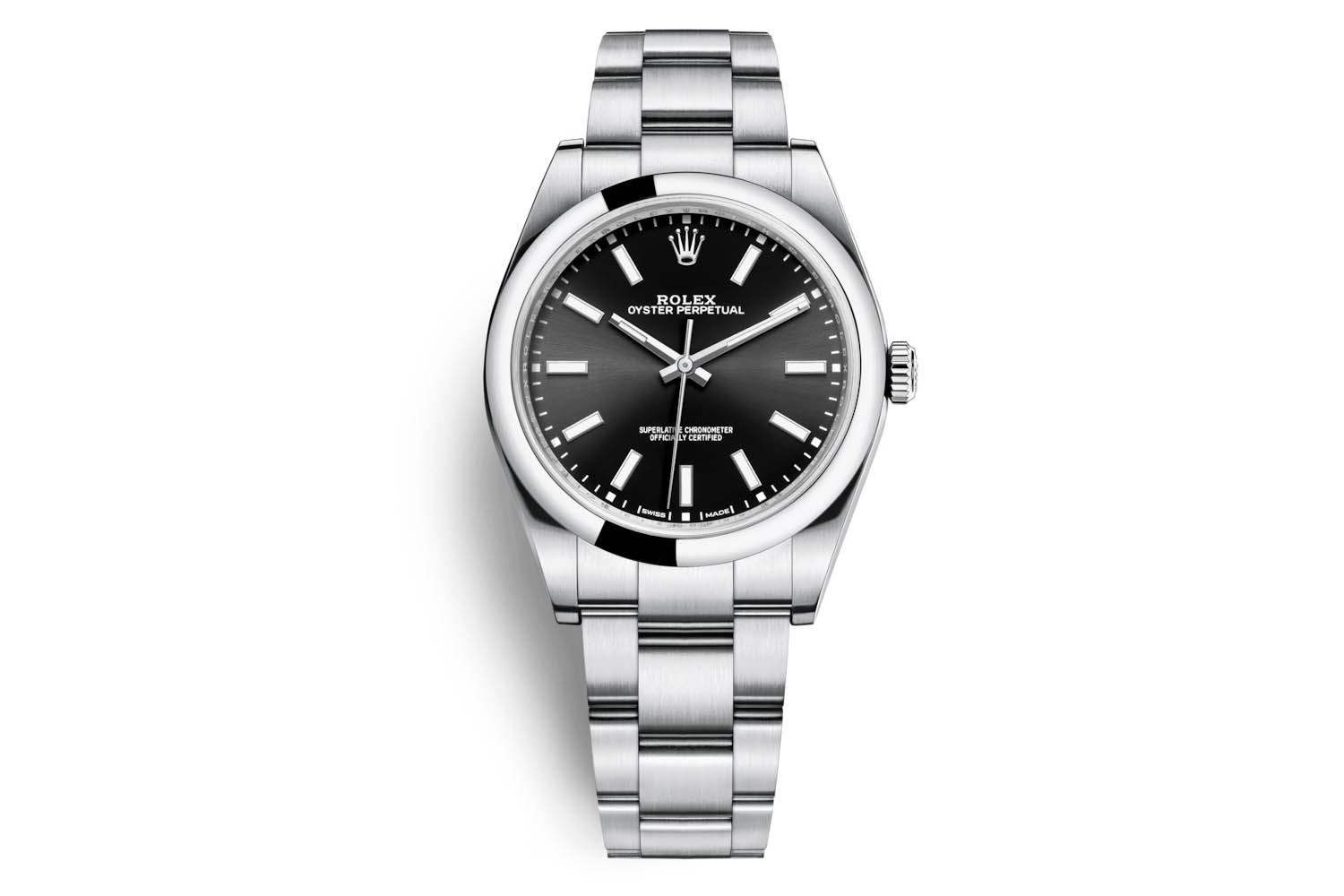 Rolex Oyster Perpetual 39 ref 114300 Black Dial