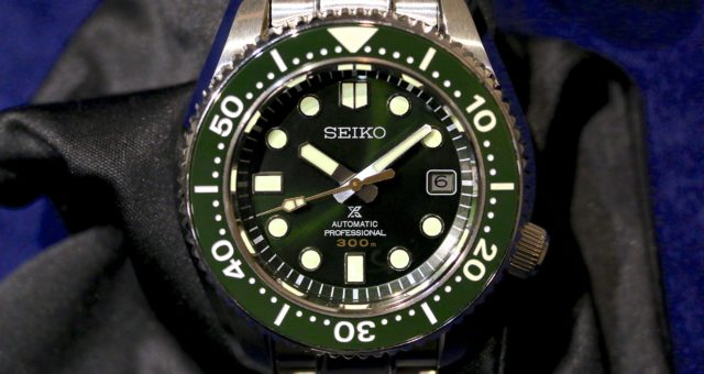 Die neuen Taucher von Seiko: Unter Wasser, fertig, los!