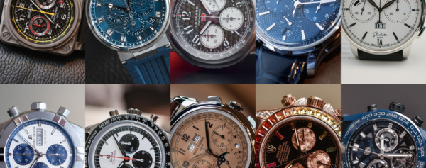 Buying Guide – 10 Cool Chronographs of Baselworld 2018
