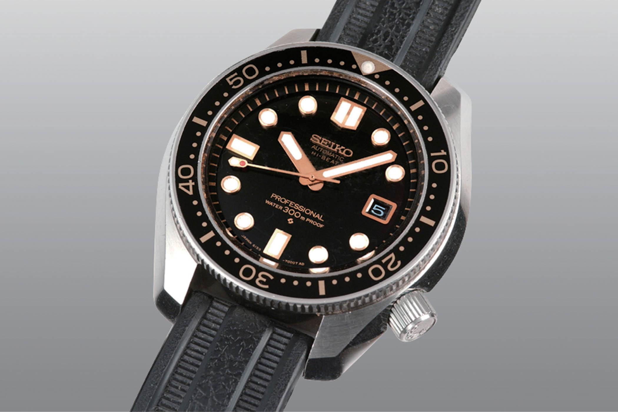 1968 Seiko Diver 300m hi-beat 6159-7001