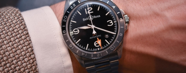 Introducing – Bell & Ross Vintage BRV2-93 GMT (With Live Pics)