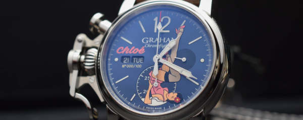 Hands-on – Graham Chronofighter Nose Art Limited Editions