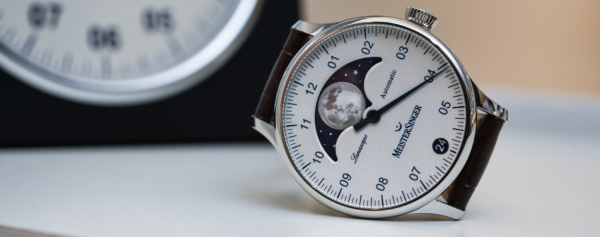 """Hands-on – MeisterSinger Lunascope – The Single-Hand Watch goes """"Astronomical"""""""