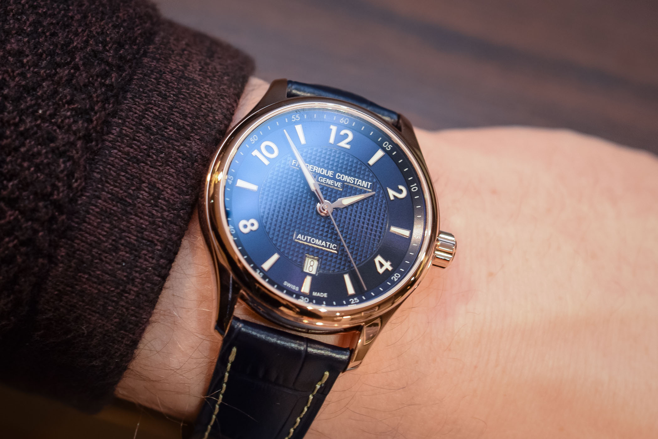 2018 Frederique Constant Automatic Runabout Limited Edition