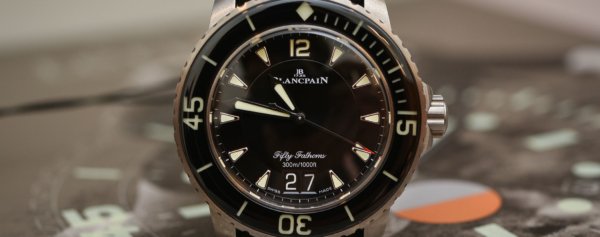 Hands-on – Blancpain Fifty Fathoms Grande Date (with more than just a change of display)