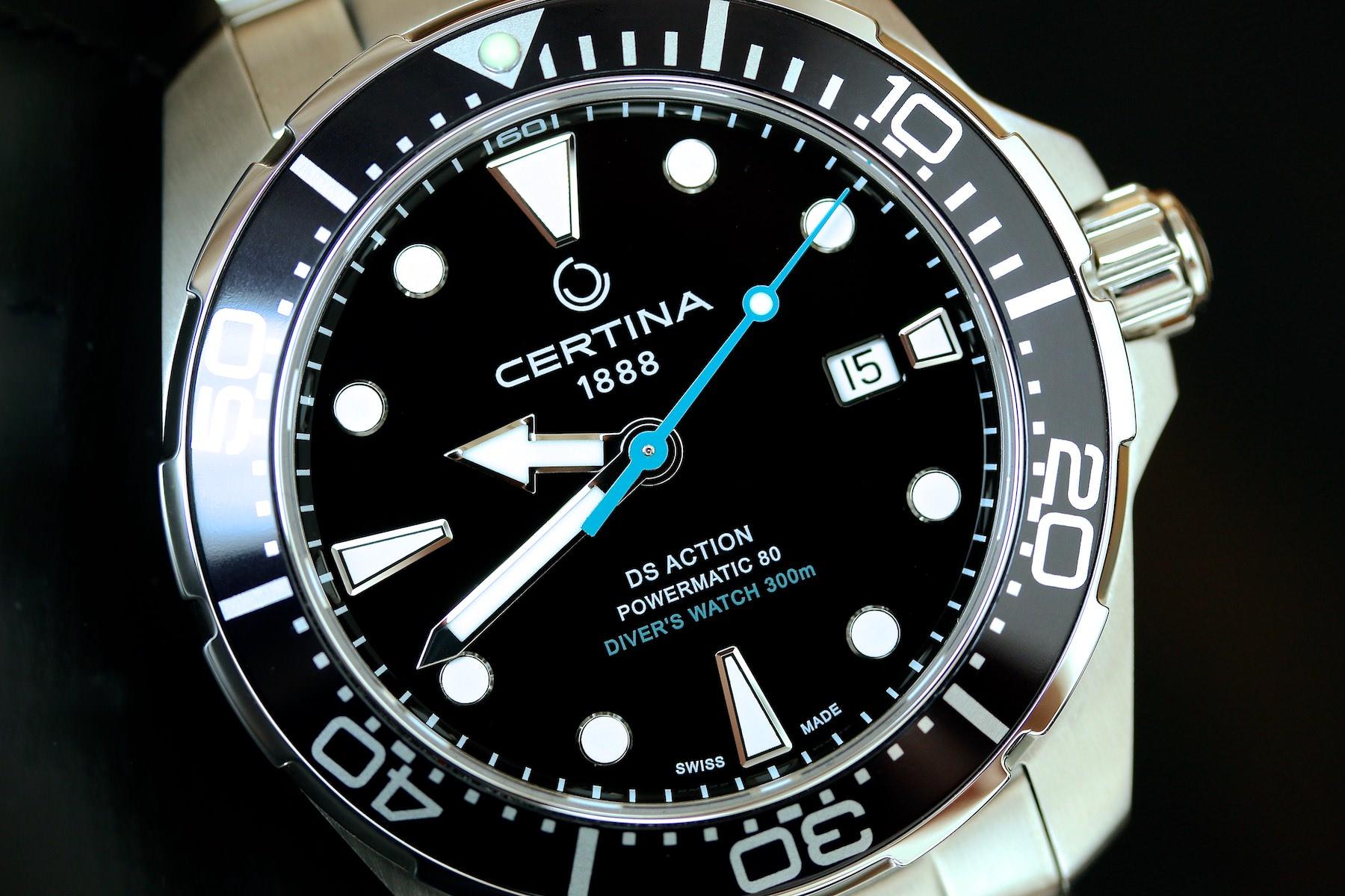 Die neue Certina DS Action Diver STC