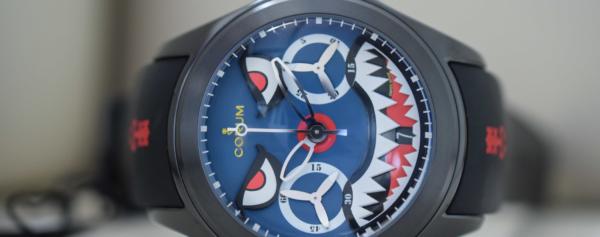 Hands-on – Corum Bubble Shark Mono-Pusher Chronograph