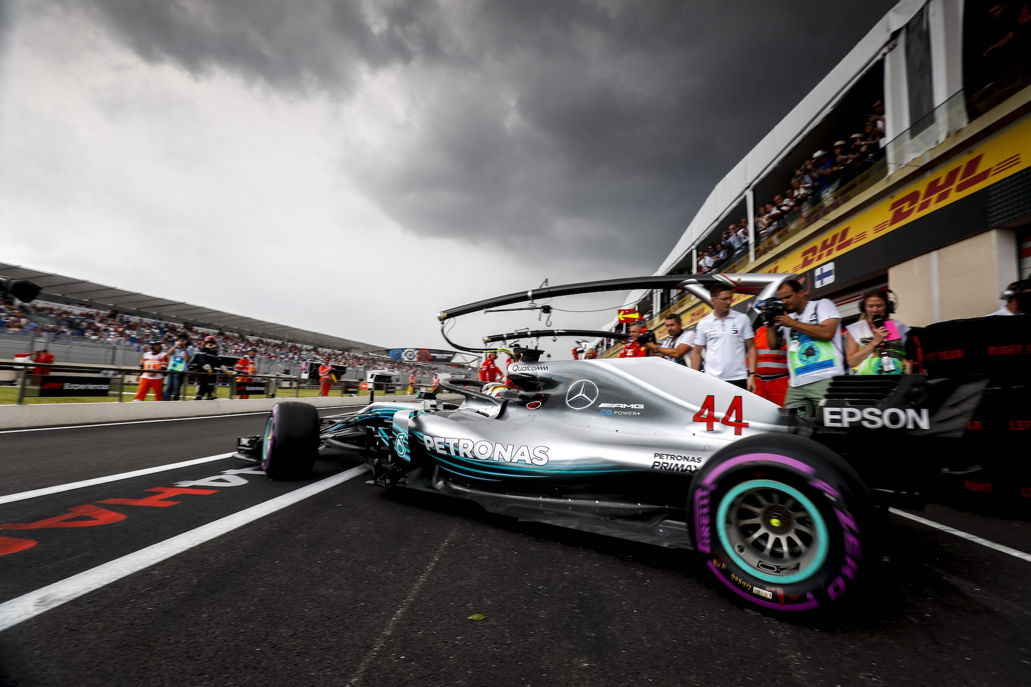 2018 French Grand Prix, Saturday - Wolfgang Wilhelm