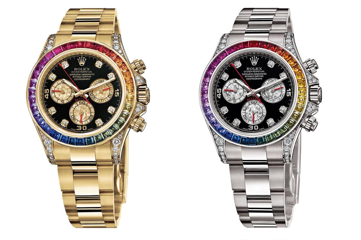 Rolex Daytona Rainbow 116598RBOW 116599RBOW