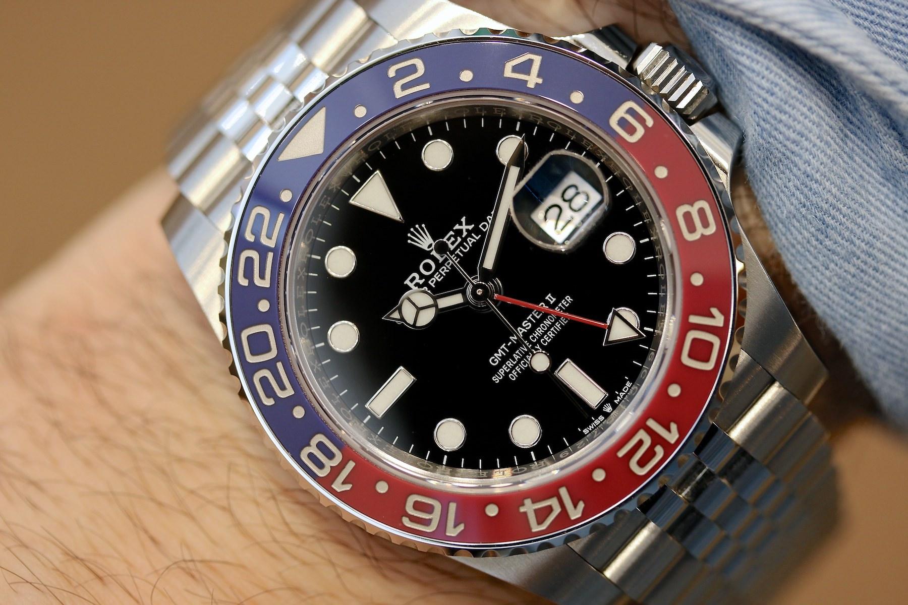 Die Rolex GMT Master 2