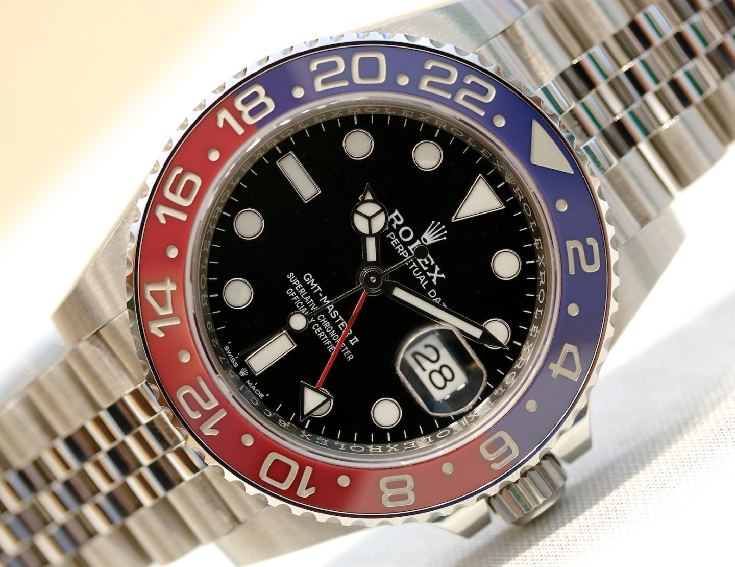 Pepsi is back: Die Rolex GMT 126710 BLRO