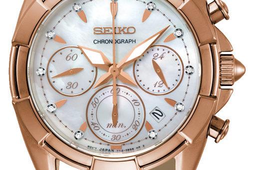 Neuer Seiko Damen Chronograph