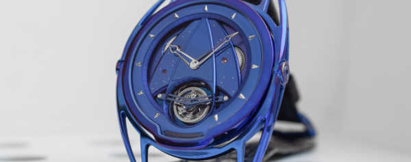 Hands-on – De Bethune DB28T Kind of Blue – a Bolt from the Blue!