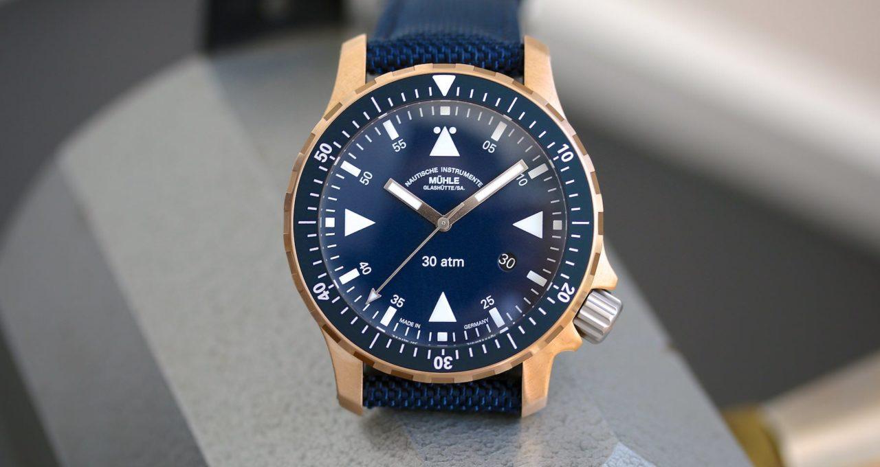 Mühle präsentiert neuen Yacht-Timer Bronze