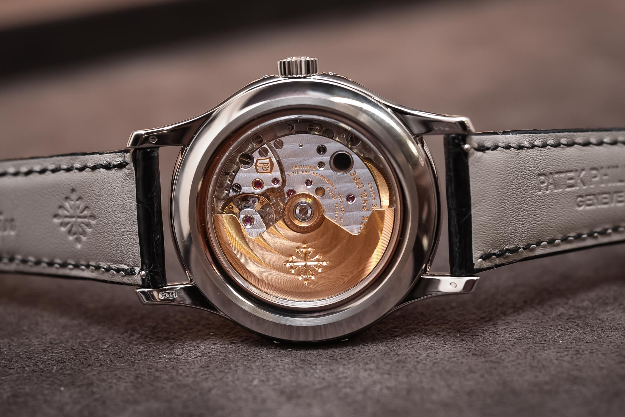 Hands On Patek Philippe Ref 5205g 013 The Young Man S Patek