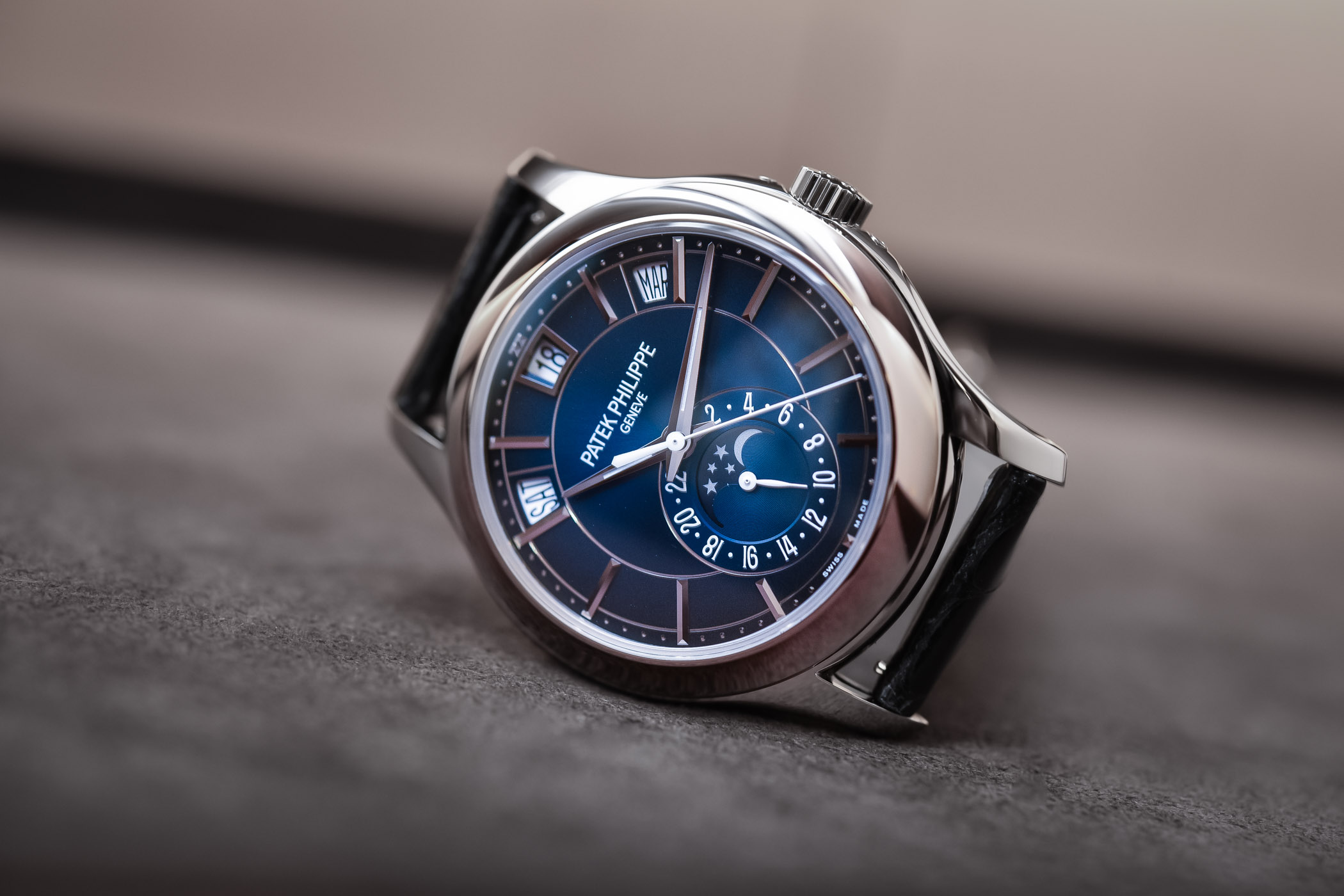 Patek Philippe Annual Calendar 5205G Gradient Blue