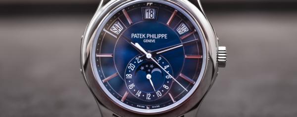 Hands-on – Patek Philippe Ref. 5205G-013 – The Young Man's Patek Annual Calendar
