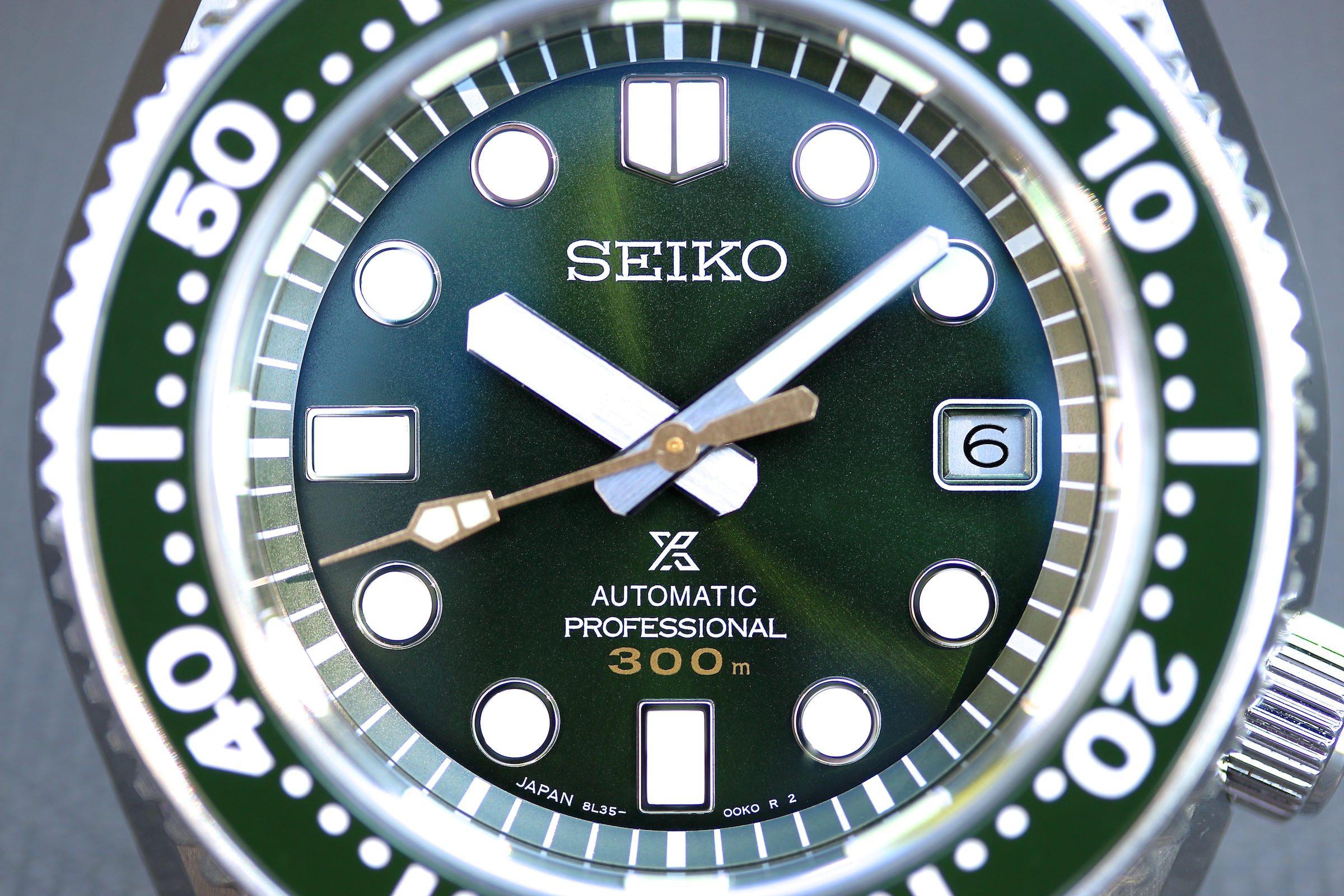 Die Seiko Prospex in zederngrün