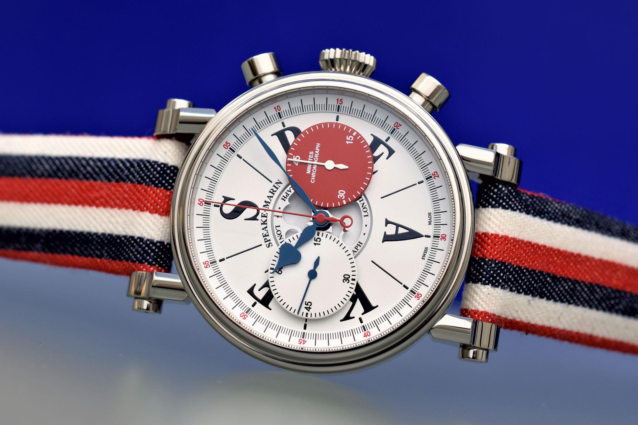 Speake-Marin London Chronograph valjoux 92