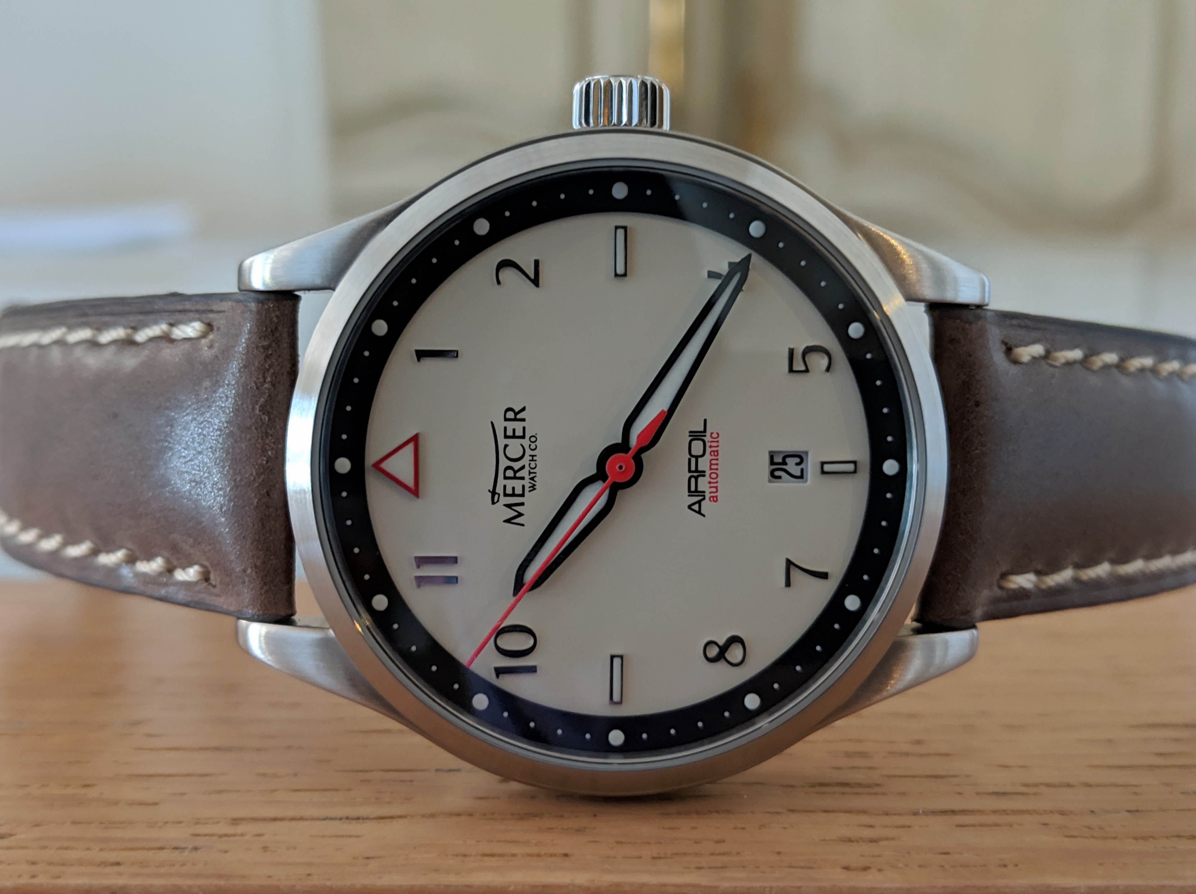 Mercer Airfoil Automatic Pilot Watch - Value Proposition - 9