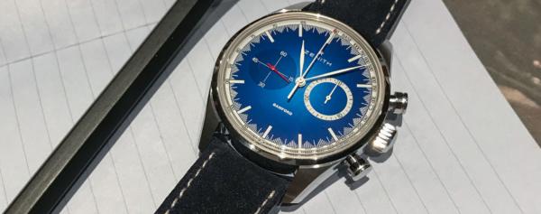 Introducing – Zenith x Bamford Chronomaster El Primero Solar Blue Limited Edition for MR. PORTER
