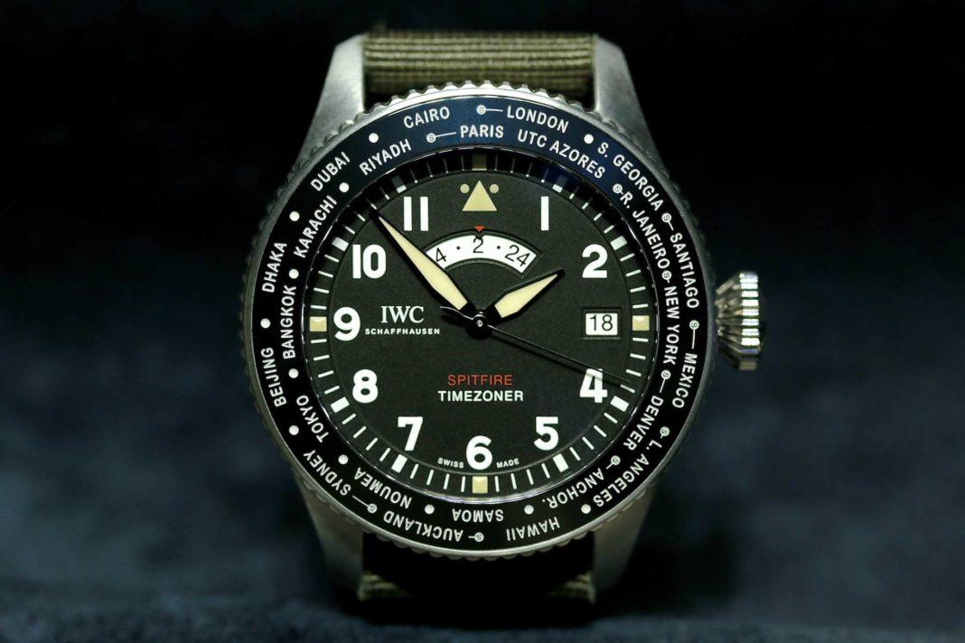IWC Pilots Watch Timezoner the longest flight