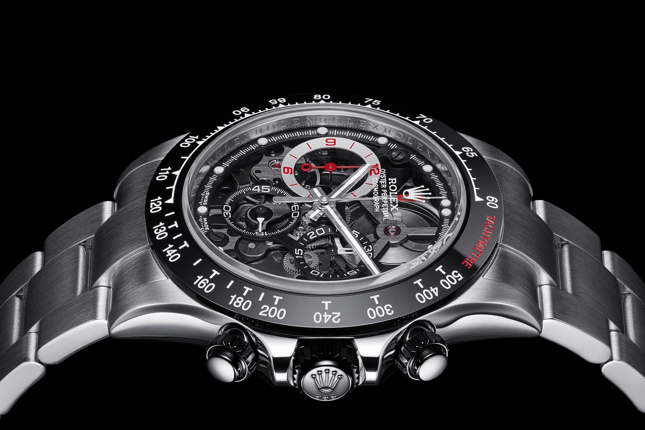 Artisans de Genève La Barrichello Skeletonized Rolex Daytona