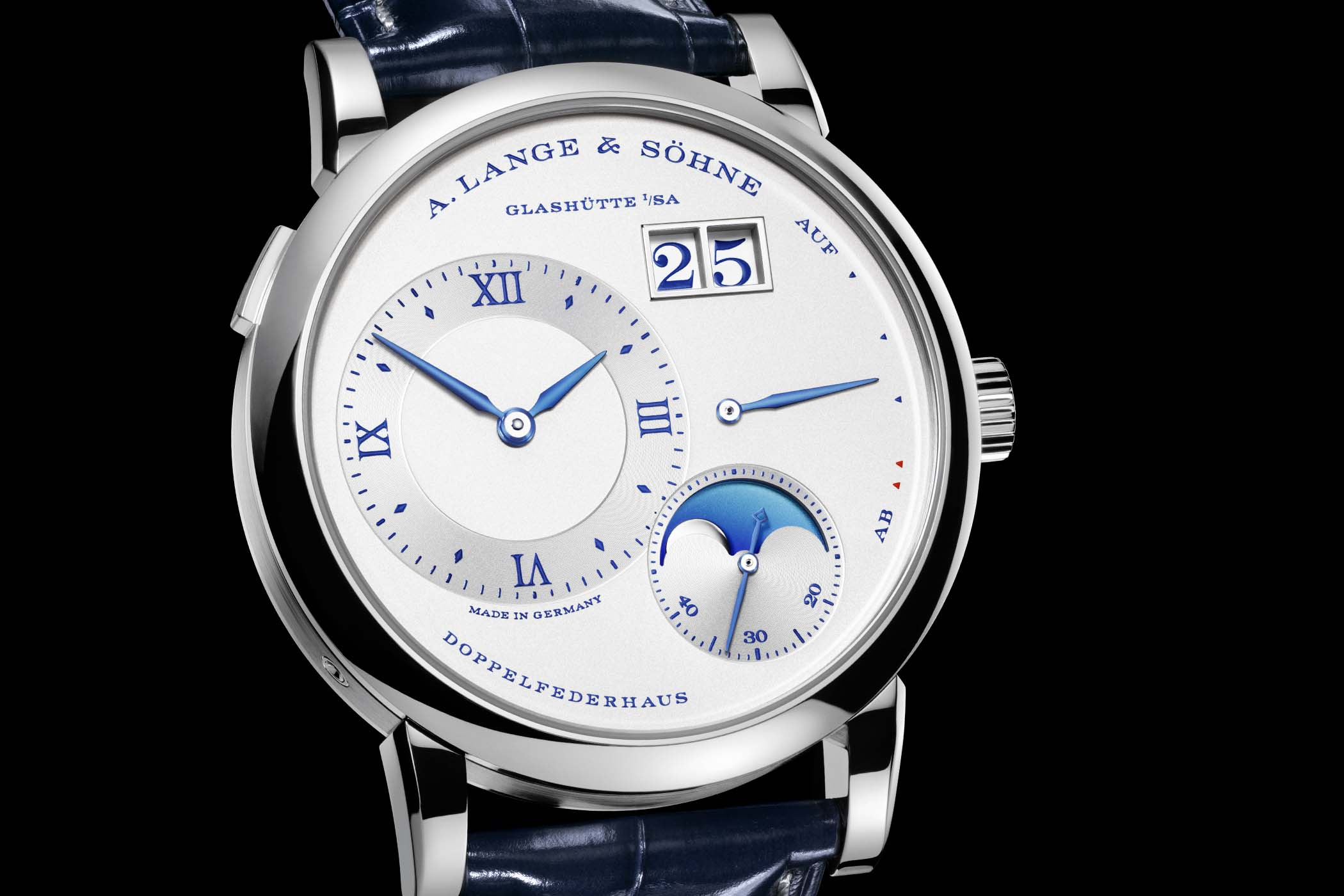 A. Lange & Söhne Lange 1 Moon Phase 25th Anniversary