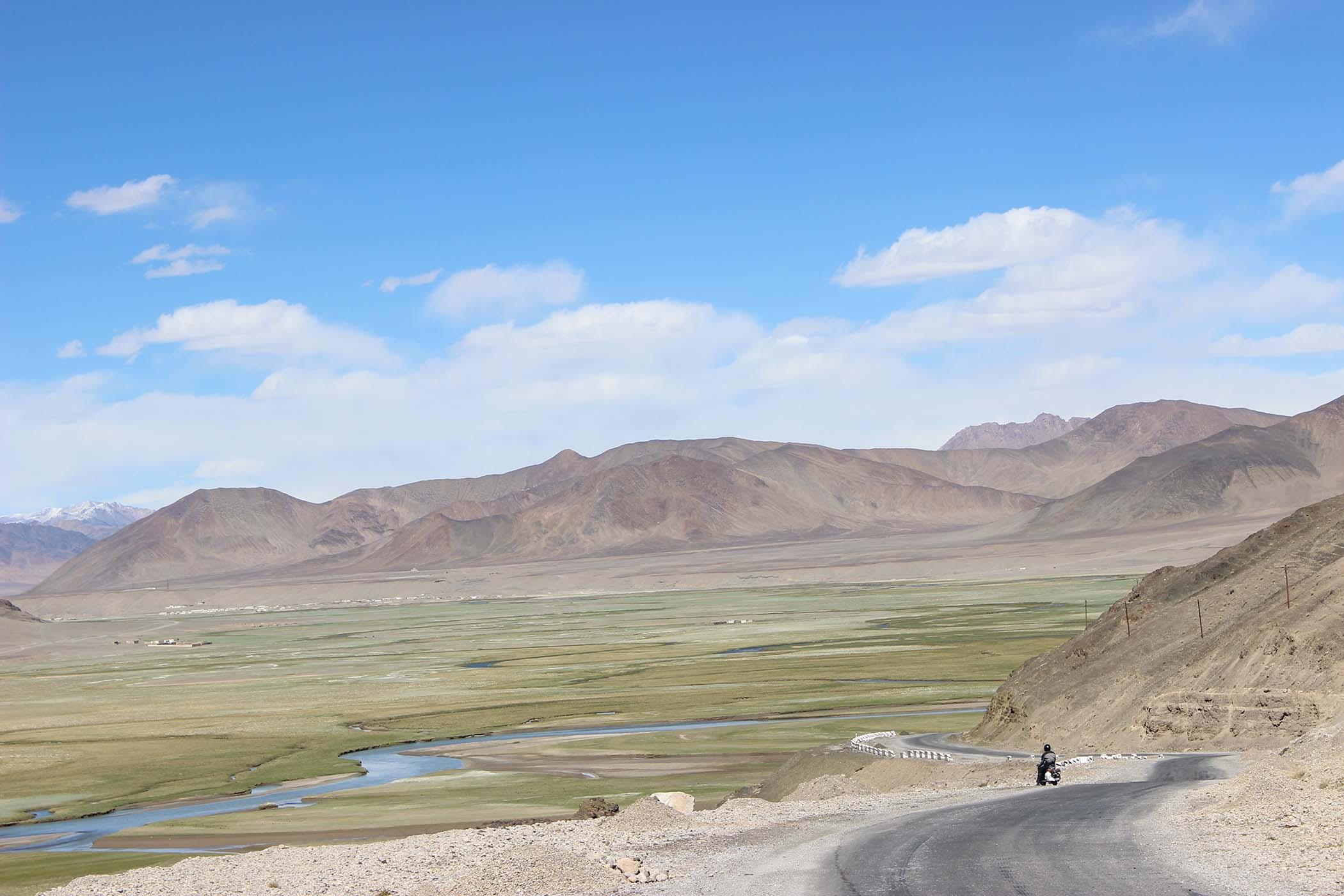 View in Tajikistan