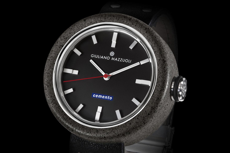 Giuliano Mazzuoli Cemento - wristwatch made of cement