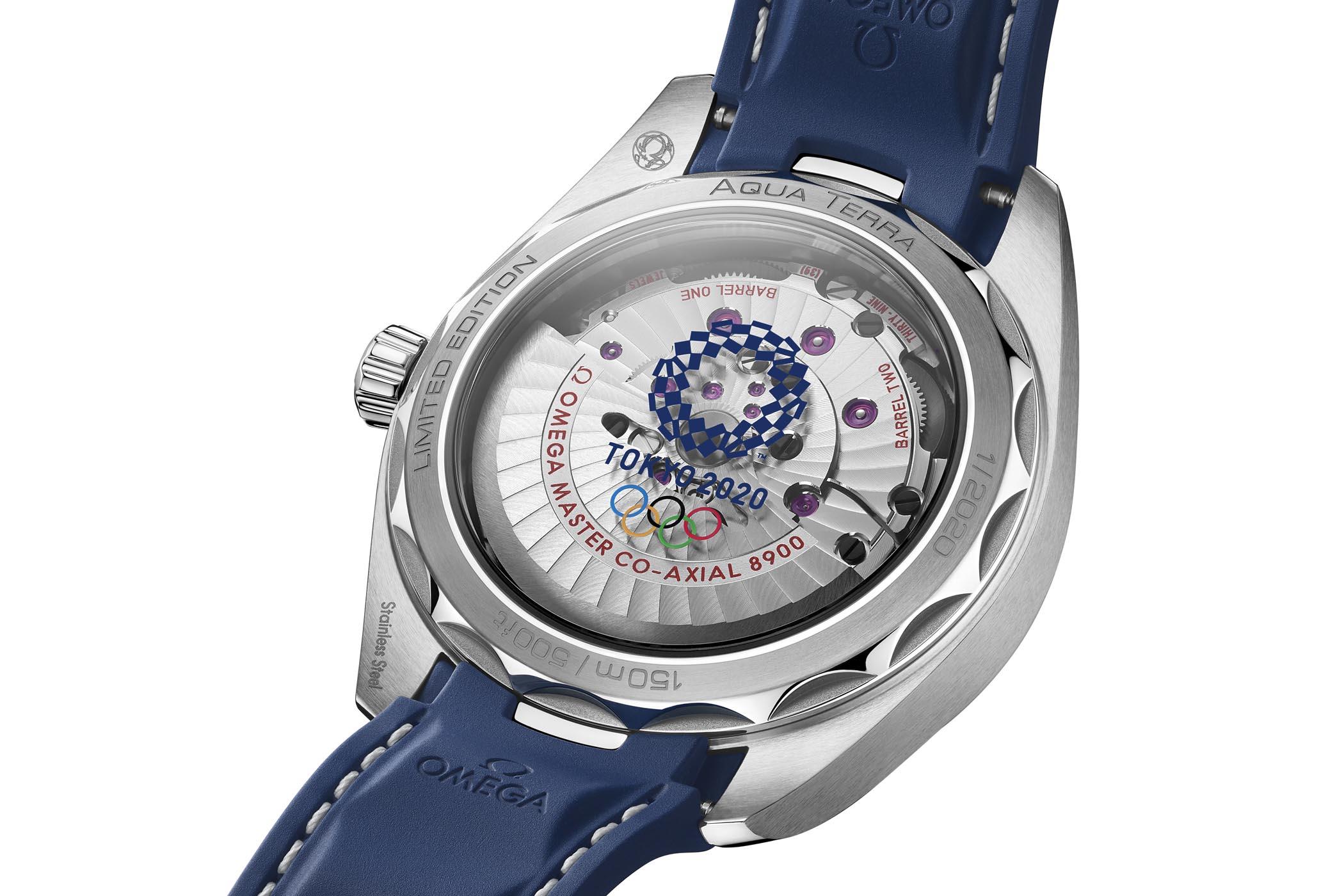 Omega Seamaster Aqua Terra 150m Tokyo 2020 Countdown 522.12.41.21.03.001