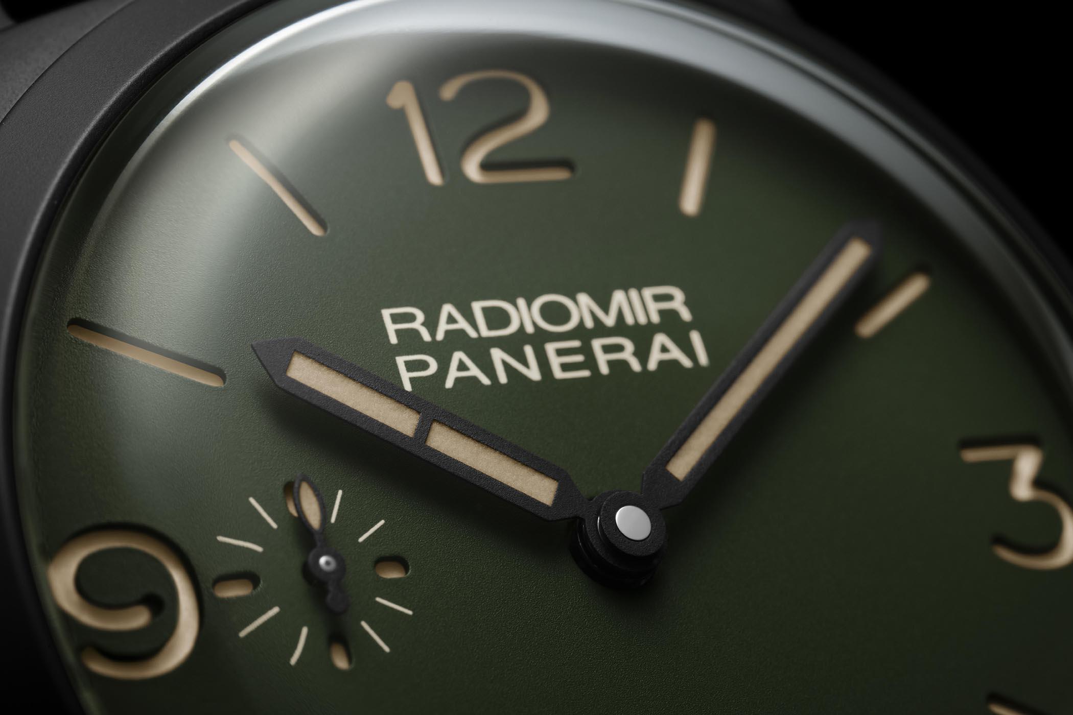 Panerai Radiomir 1940 Military Green 2019 Collection PAM00995 PAM00997 PAM00998 PAM00999