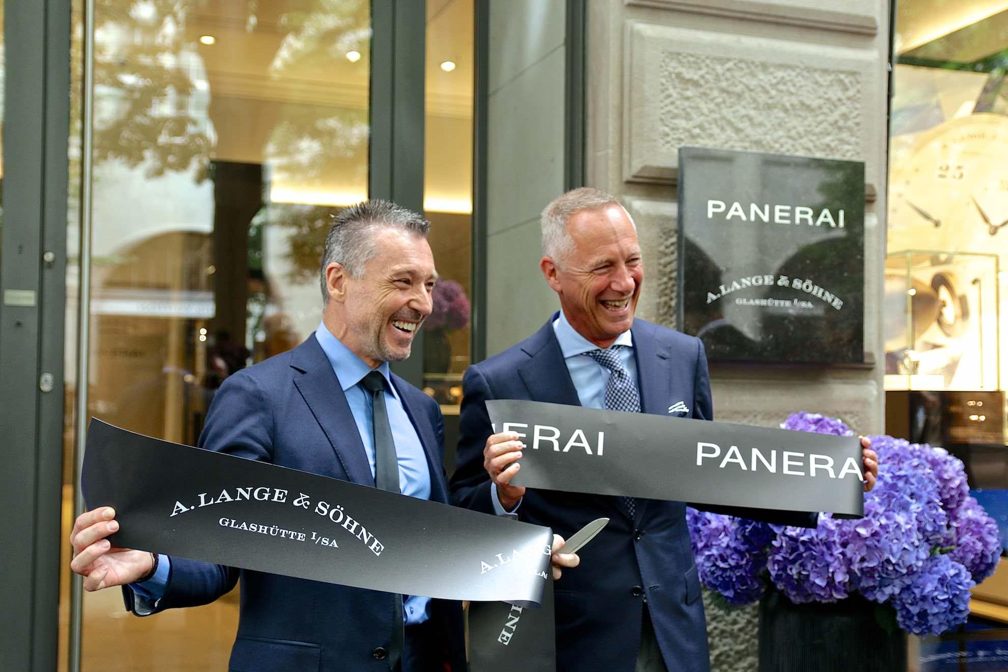 Panerai und A. Lange & Söhne: Duobrand-Boutique in Zürich