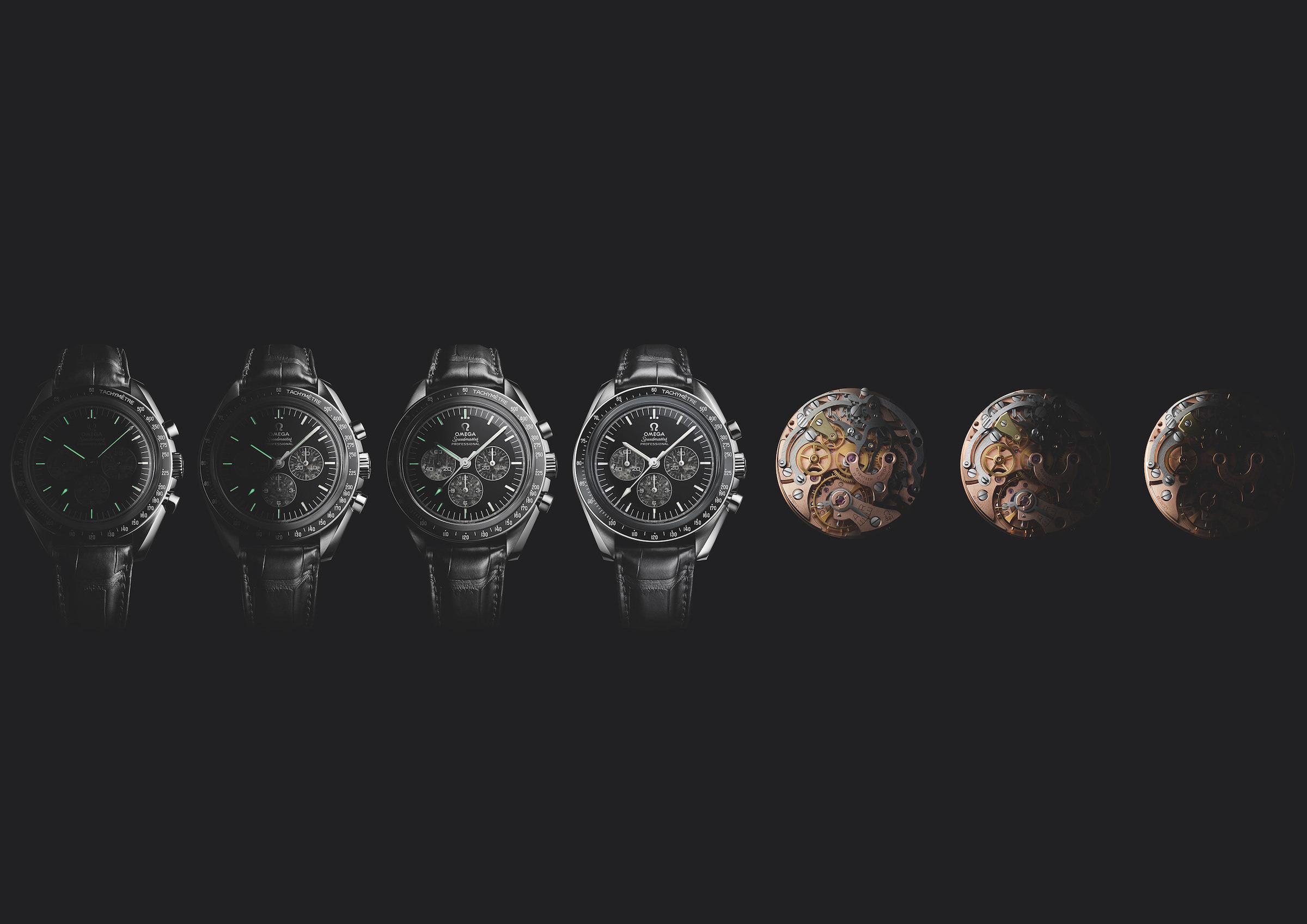 Die neue Omega Speedmaster Moonwatch 321 Platinum