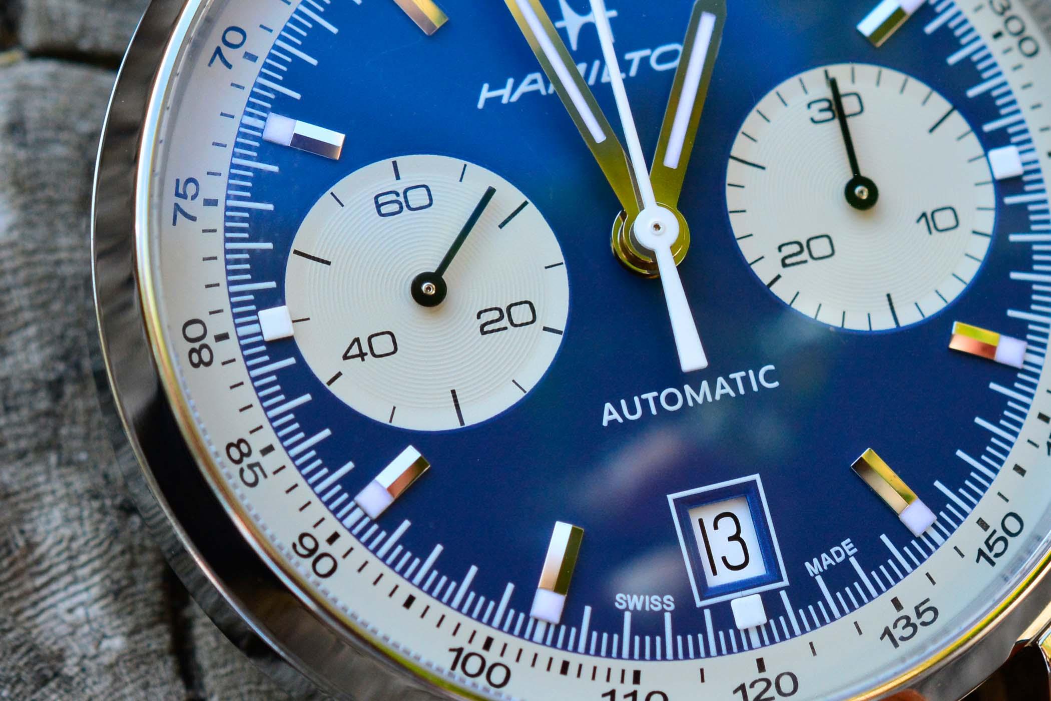 Hamilton Intra-Matic Auto Chrono Blue H38416541