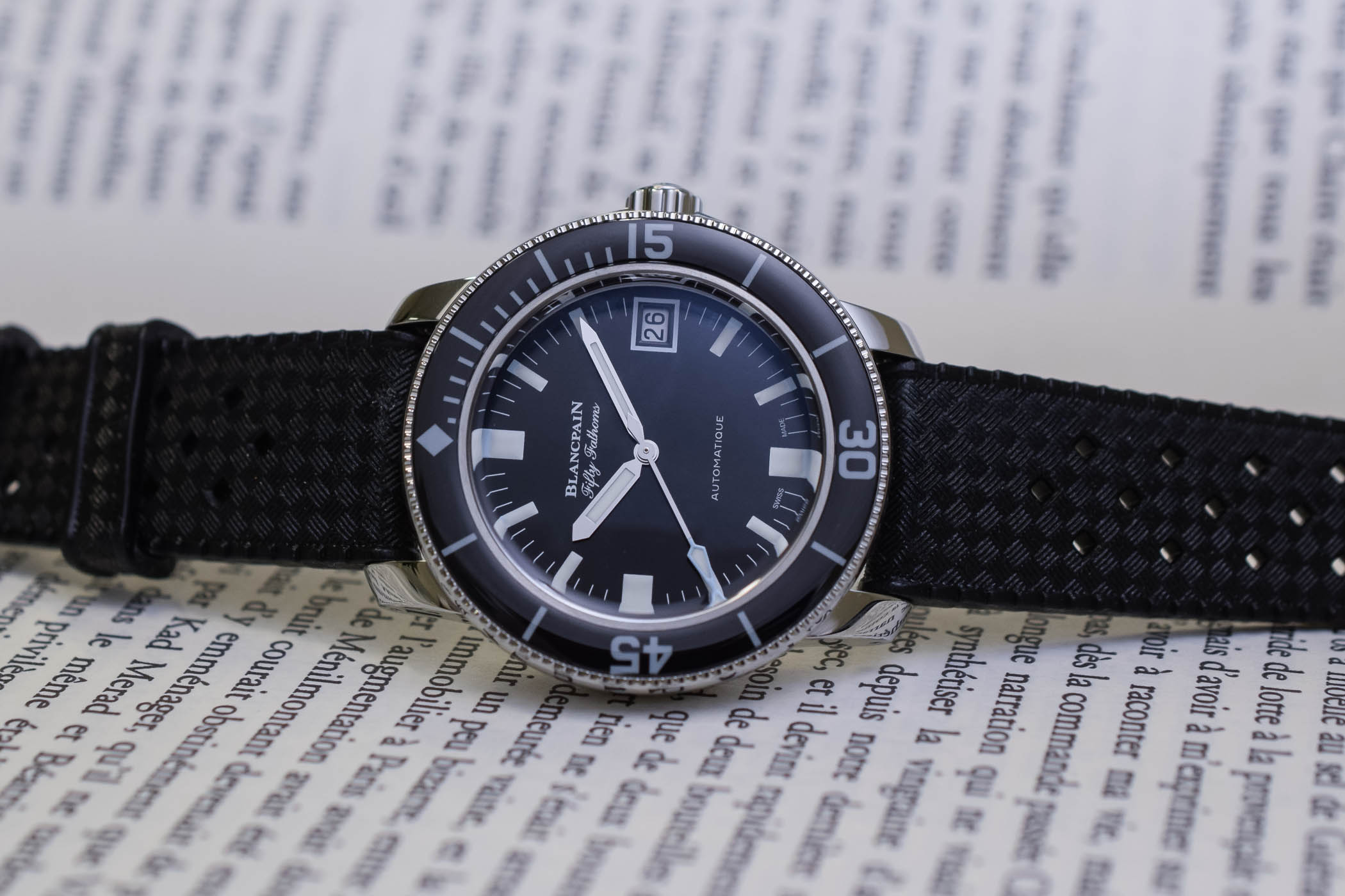 Unique Blancpain Fifty Fathoms Barakuda for Only Watch 2019