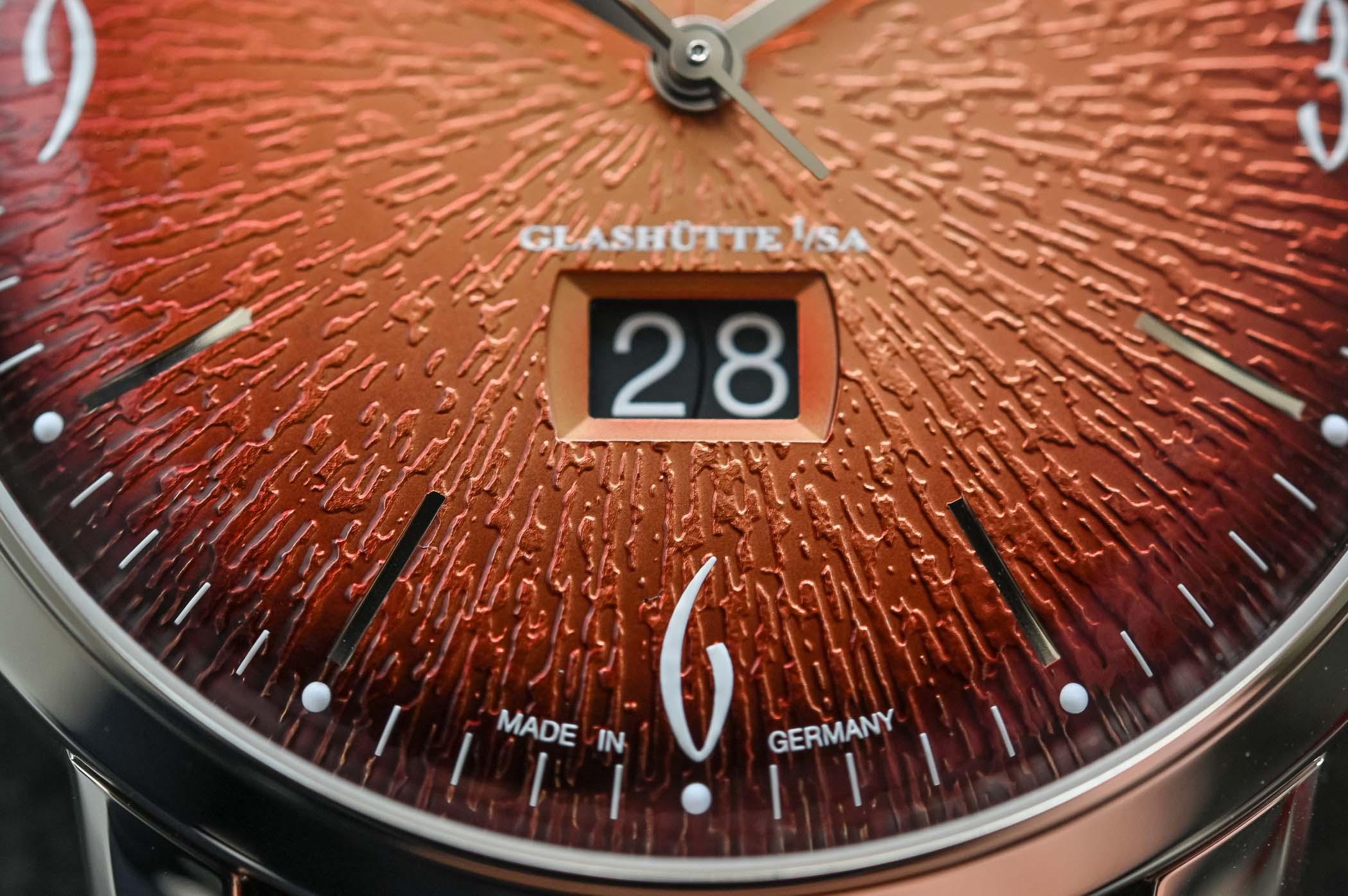 Glashutte Original Sixties Panorama Date Annual Edition Fiery Orange
