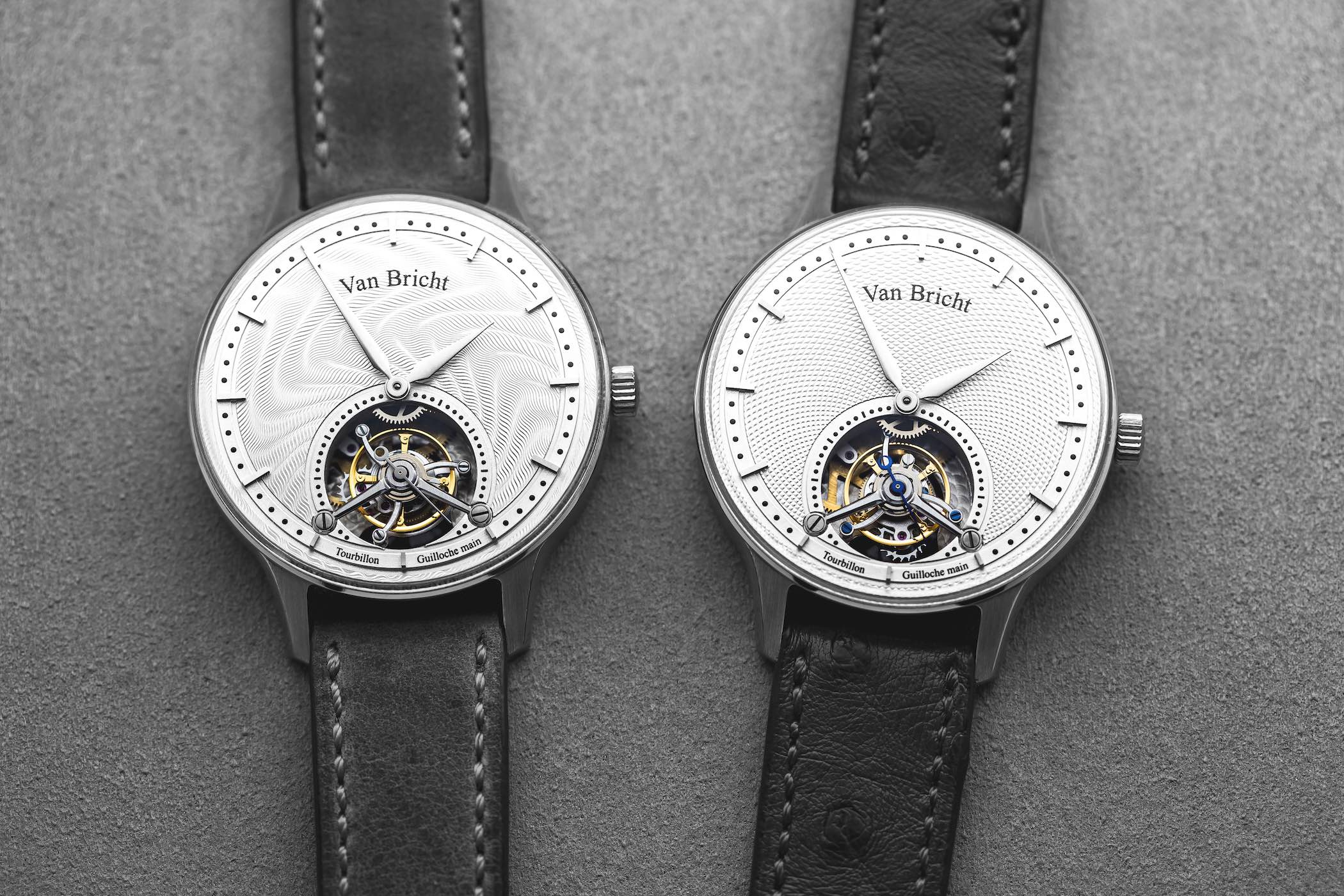 Van Bricht Old Mind - Tourbillon Watch Belgium