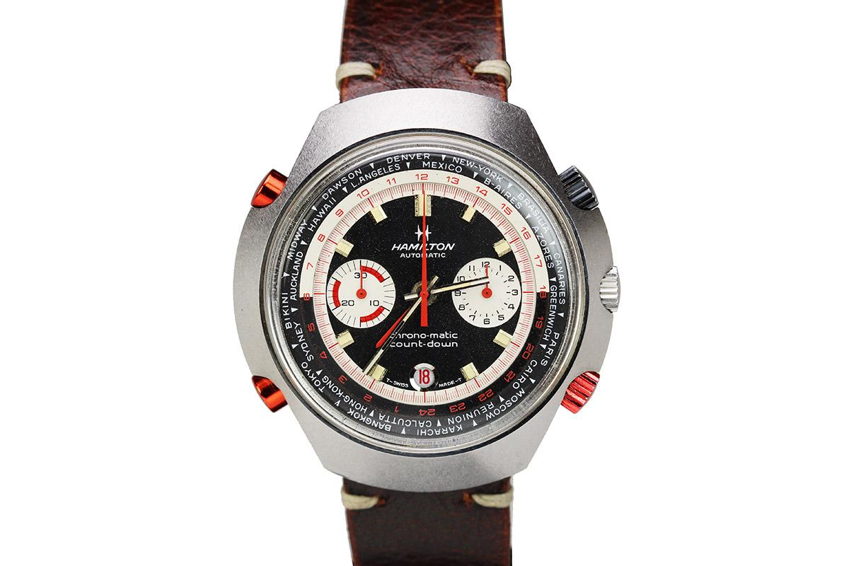 Hamilton Count-Down GMT Chrono-Matic vintage