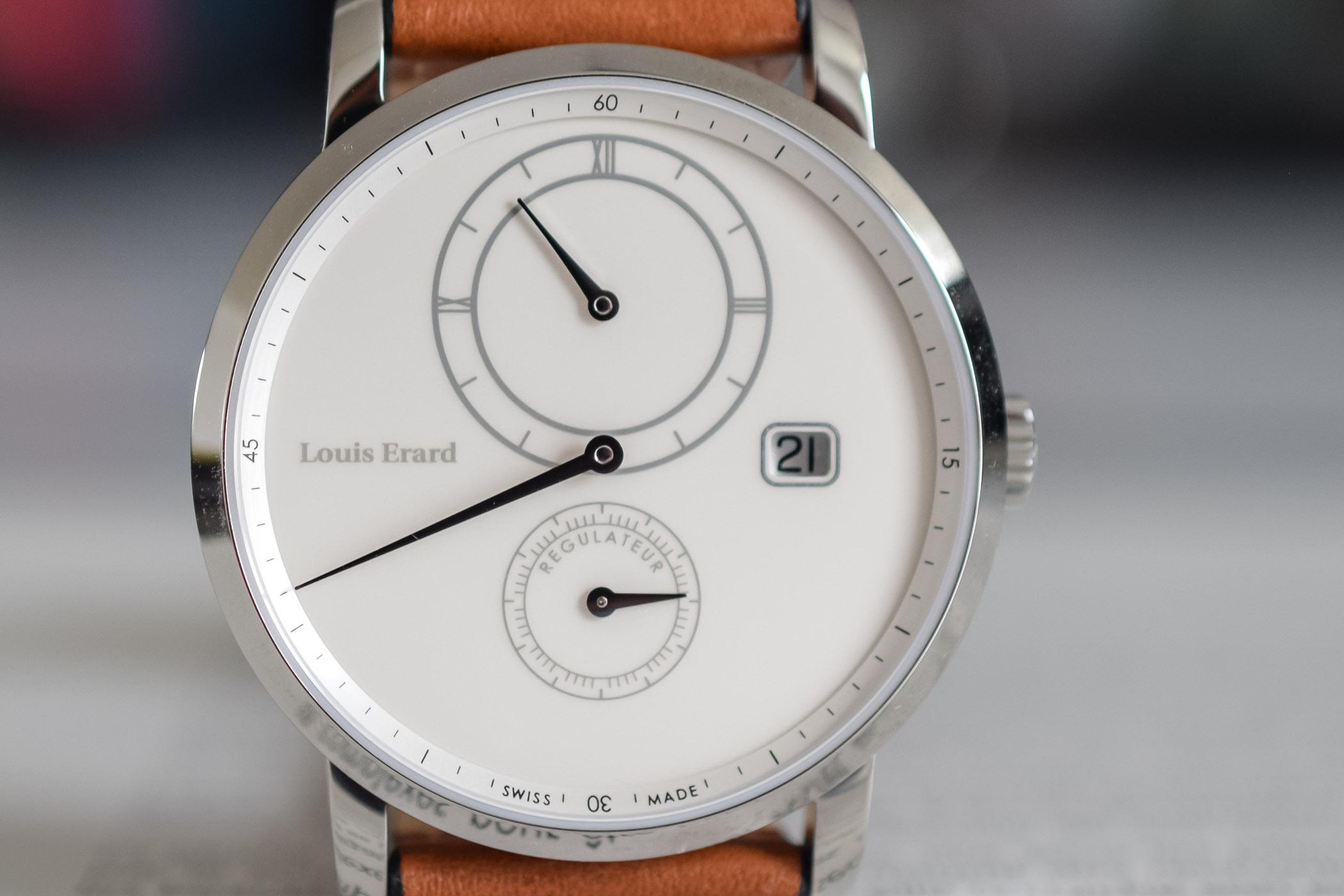 Louis Erard Excellence Regulator - Design Eric Giroud