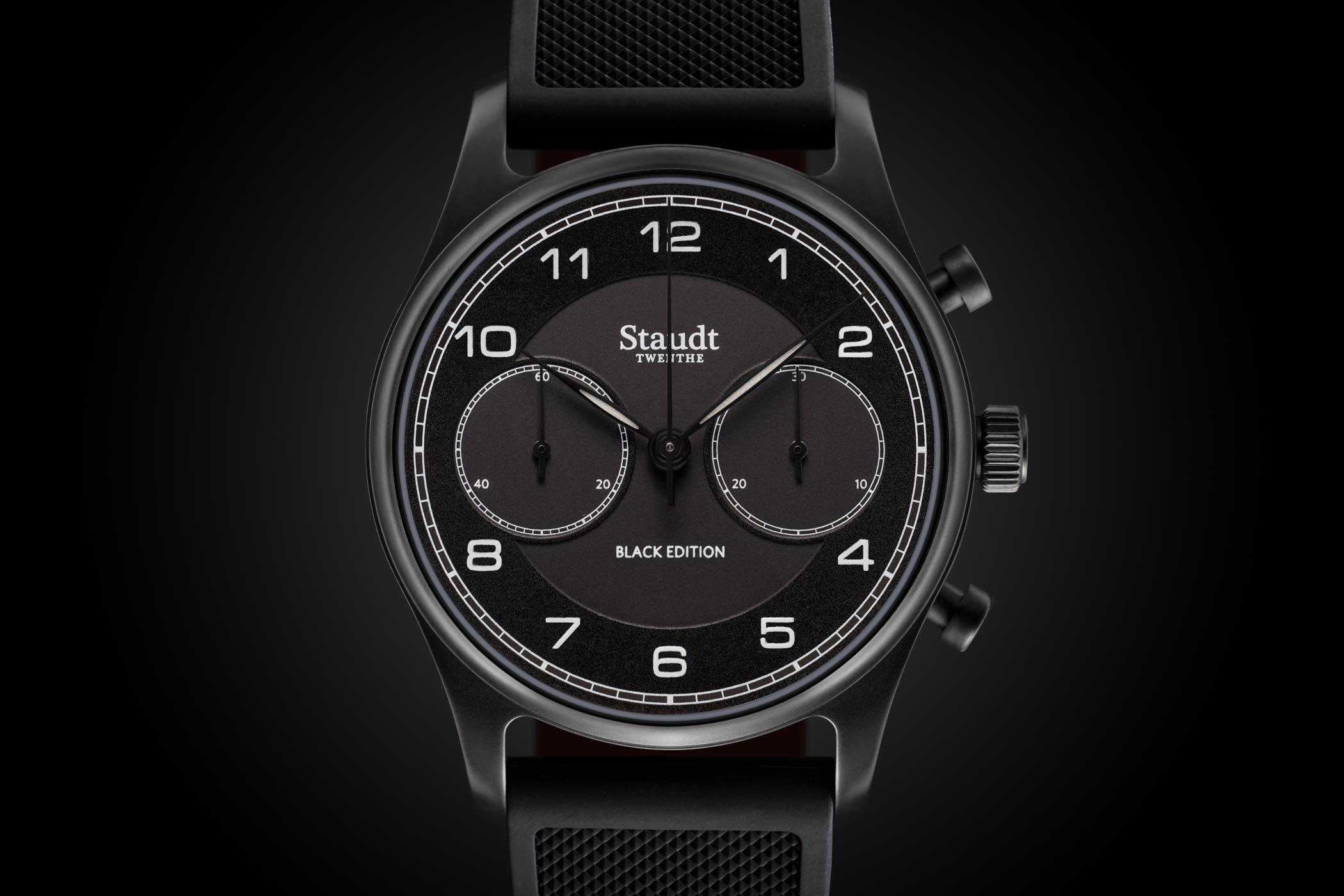Staudt Praeludium Chronograph Black Edition