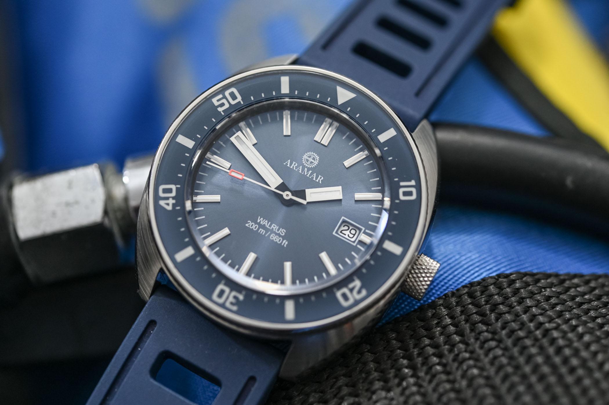 Aramar Walrus Dive Watch - Value Proposition Kickstarter