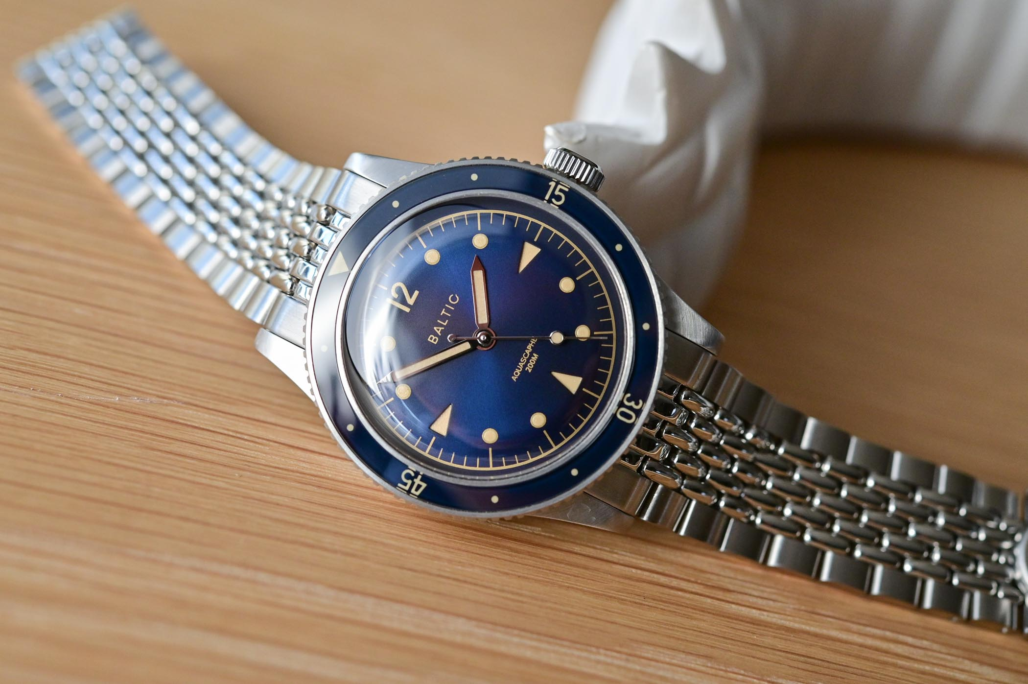 Baltic Aquascaphe Dive Watch - Review