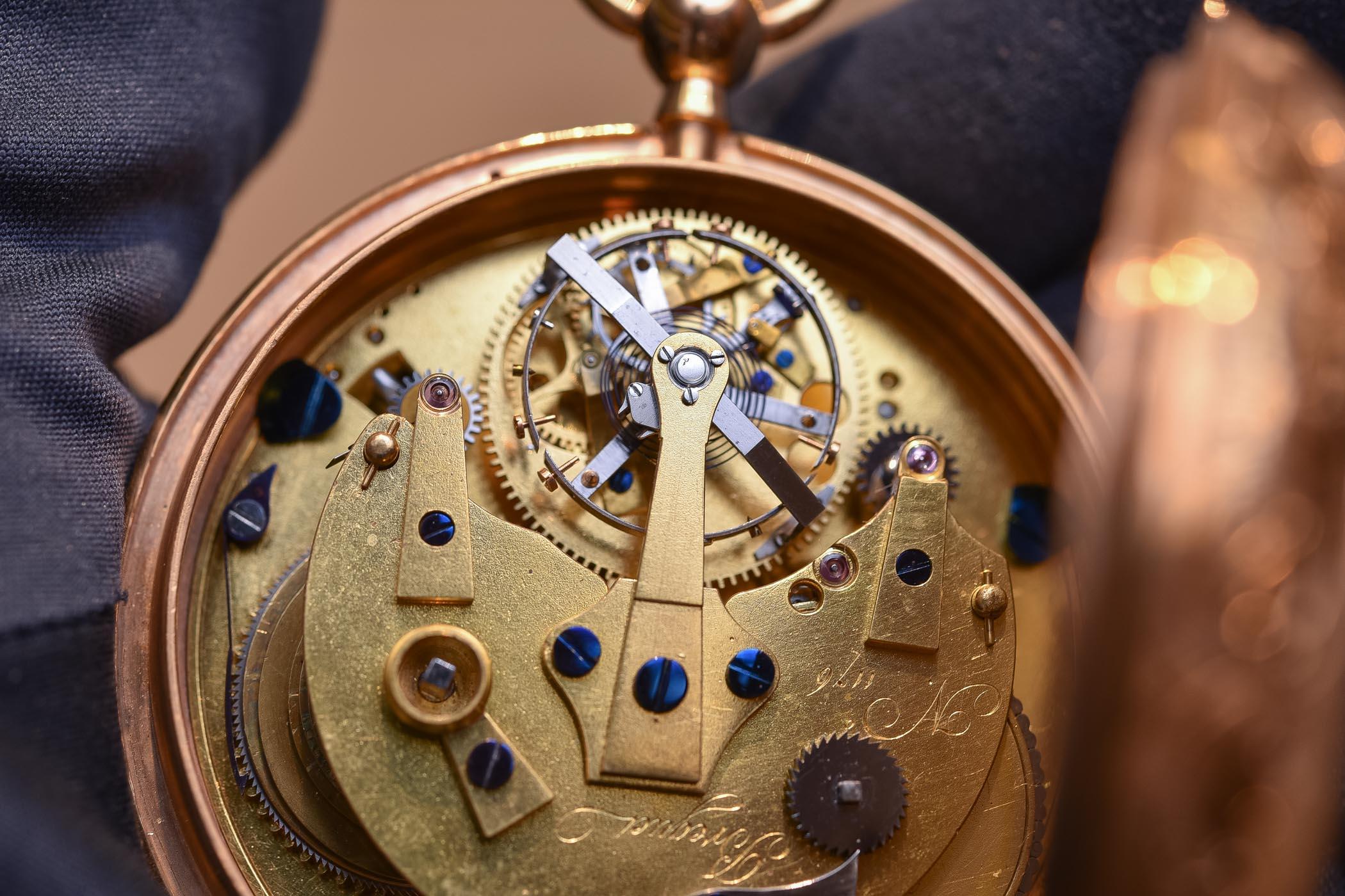 Breguet Tourbillon pocket watch No 1176