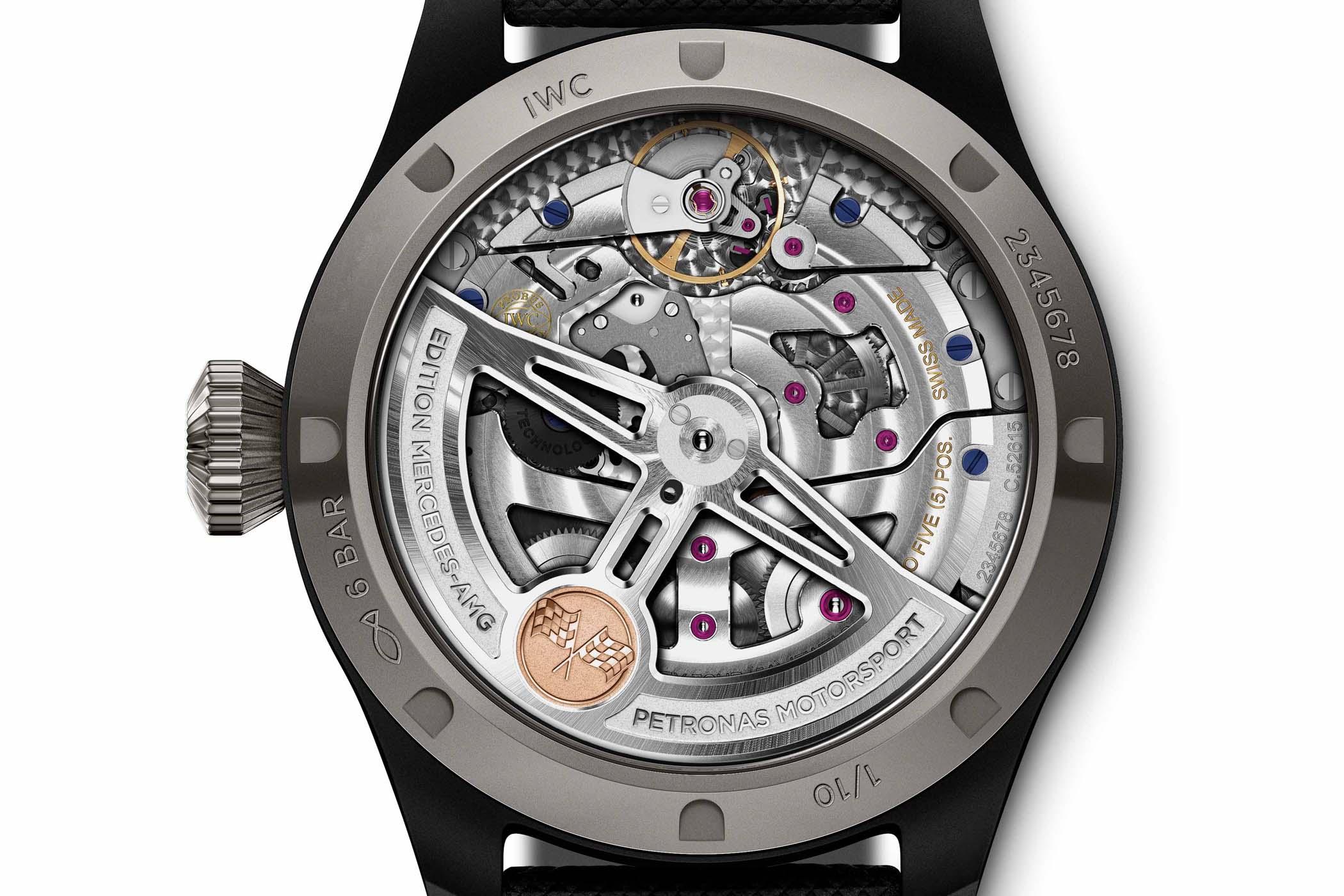 IWC Big Pilot's Watch Perpetual Calendar Mercedes-AMG Petronas Motorsport IW503003