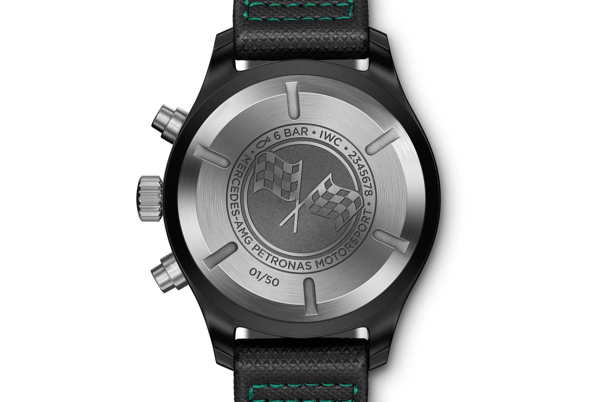 IWC Pilot's Watch Chronograph Mercedes-AMG Petronas Motorsport IW389005