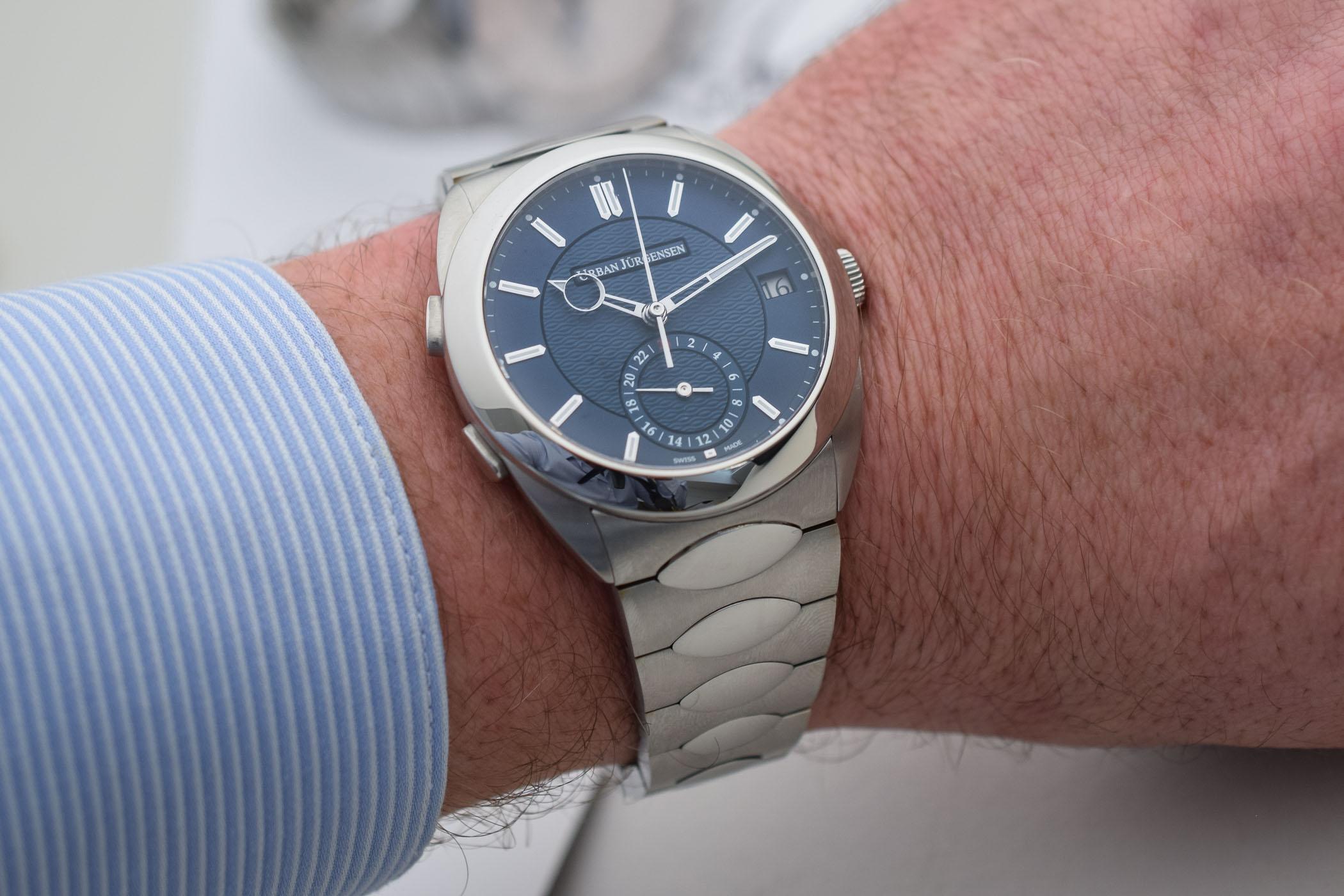 Urban Jurgensen First Luxury Sports Watch - Jurgensen One Collection - 5