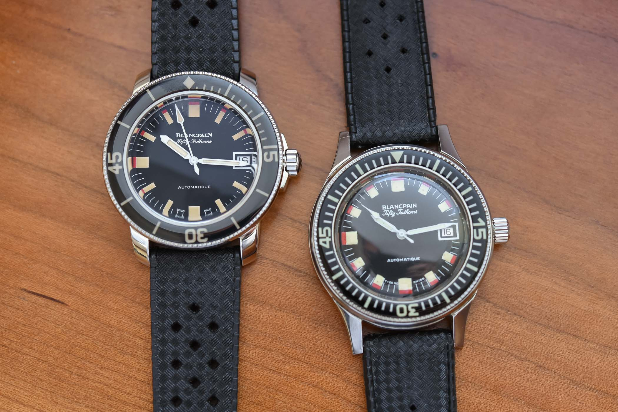 Vintage Blancpain Fifty Fathoms Barakuda-Barracuda